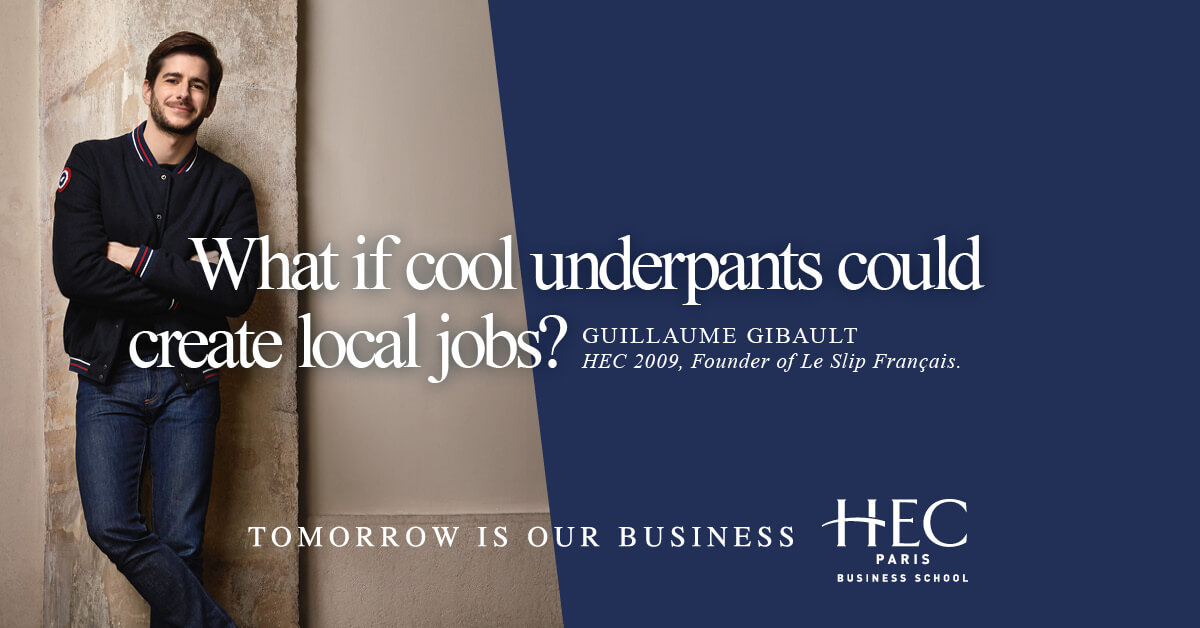 What if cool underpants could create local jobs?